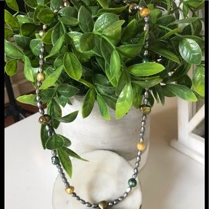 Colored Water Pearl necklace